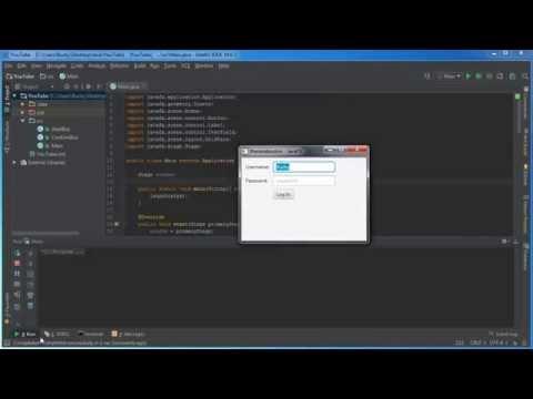 JavaFX Java GUI Tutorial - 9 - GridPane