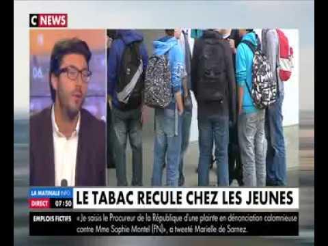 Prévention Tabac, le Président de la SMEREP Hadrien Le Roux en parle sur CNews