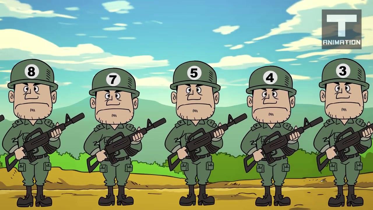 Gambar Kartun Tentara Gokil Abis