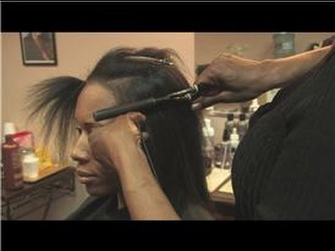 Ethnic Hair Care : How To Use Marcel Iron To Straighten African American Hair