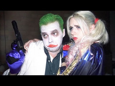 Thumbnail: The Joker Harley Quinn SUICIDE SQUAD parody - Real Life Superhero Movie - TheSeanWardShow