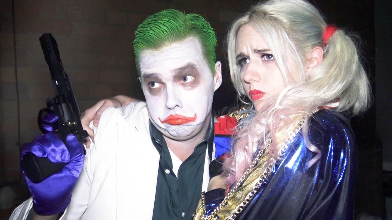 The Joker Harley Quinn Suicide Squad Parody Real Life Superhero