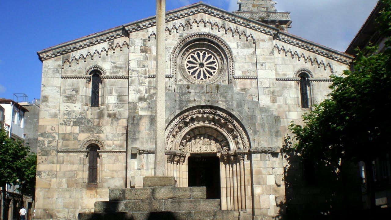 Colegiata De Santa María Del Campo A Coruña Galicia Spain Europe Youtube