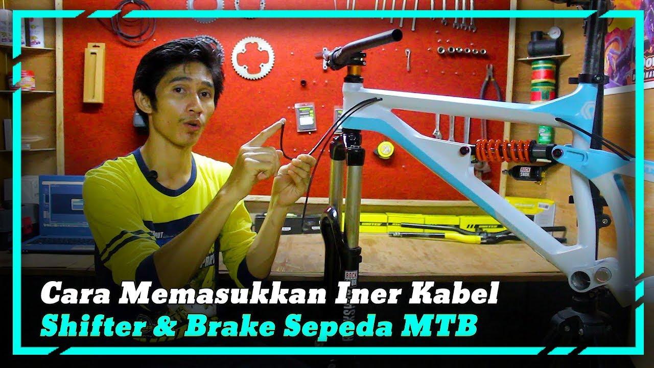 Tutorial Memasukan Kabel Rem Dan Shifter Di Frame Sepeda