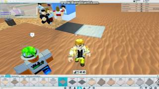 First video (we play some ROBLOX)