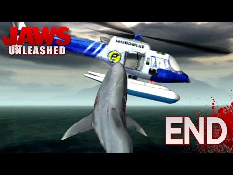 JAWS GO BOOM!! - Jaws Unleashed - FINALE (PS2)    HD