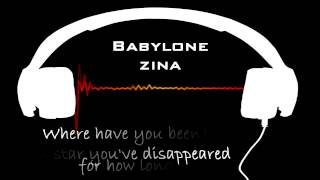 Gambar cover Babylone - Zina ( Lyrics in English)