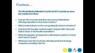 Bharat Book Presents: The World Medical Markets Fact Book 2012