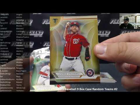 11/7/2018 2018 Triple Threads Baseball 9 Box Case Random Teams #2