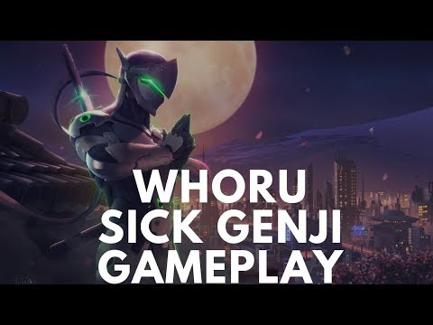 Overwatch Korean Genji Pro WhoRu Showing His Sick Gameplay Skills thumbnail
