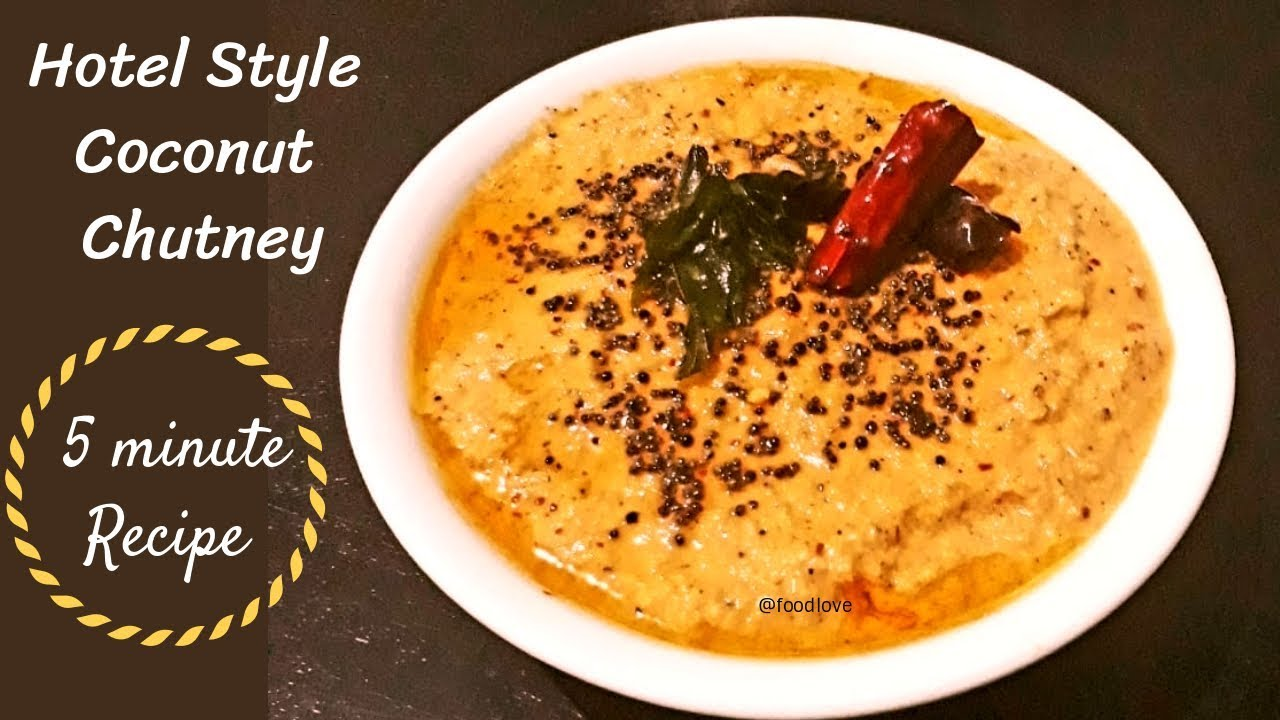 Coconut chutney-Super Side Dish for idly,dosa and Rice !!!