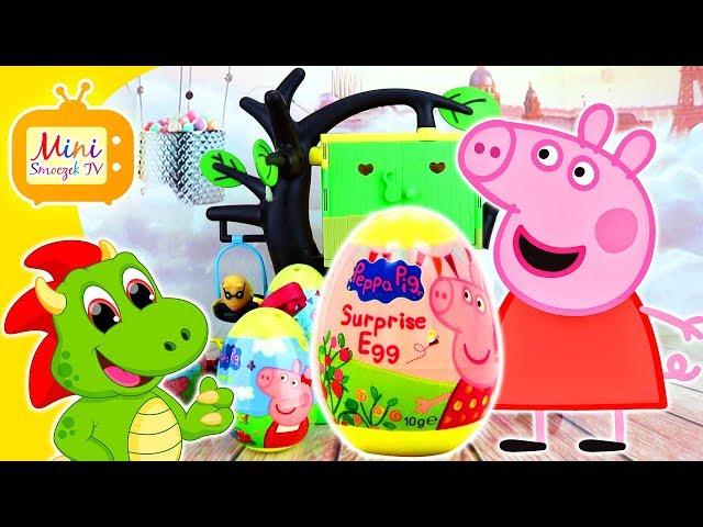 Świnka Peppa | Jajka Niespodzianki | Domek Na Drzewie | Peppa Pig | Filmik Dla Dzieci Po Polsku
