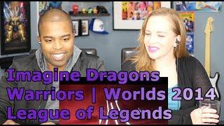 Imagine Dragons: Warriors | Worlds 2014 - League of Legends (REACTION 🔥)