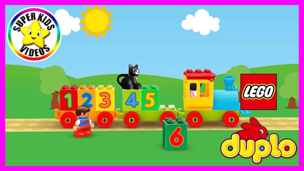 Leren Tellen Nederlands ☆ LEGO DUPLO WORLD Getallentrein ☆ Cijfers Leren voor Peuters