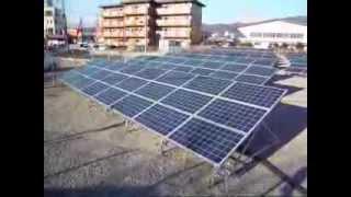 Qセルズ事業用太陽光発電108kw山梨県甲府市