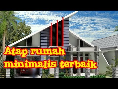 contoh rangka atap baja ringan minimalis model rumah terbaik bahan youtube