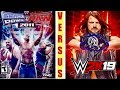 WWE Smackdown VS Raw 2011 Finishers VS WWE 2k19 Finishers || Which Game Finisher is Best