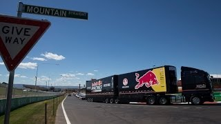 Convoy: On the road with the Red Bull Racing Australia team