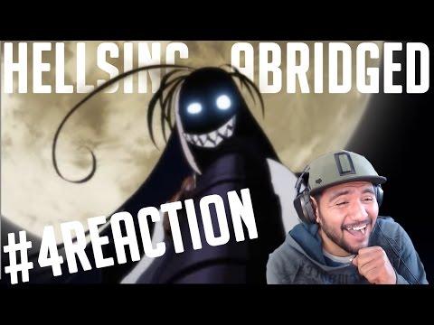 AMAMOS LA GUERRA! -  hellsing ultimate abridged 4 | REACTION