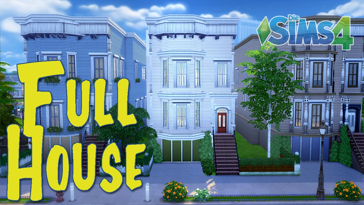 Sims 4 Full House Tour Full House House Tours Foster House