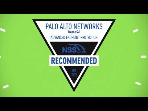 Palo Alto Networks Receives a Recommended Rating by NSS Labs for Advanced Endpoint Protection