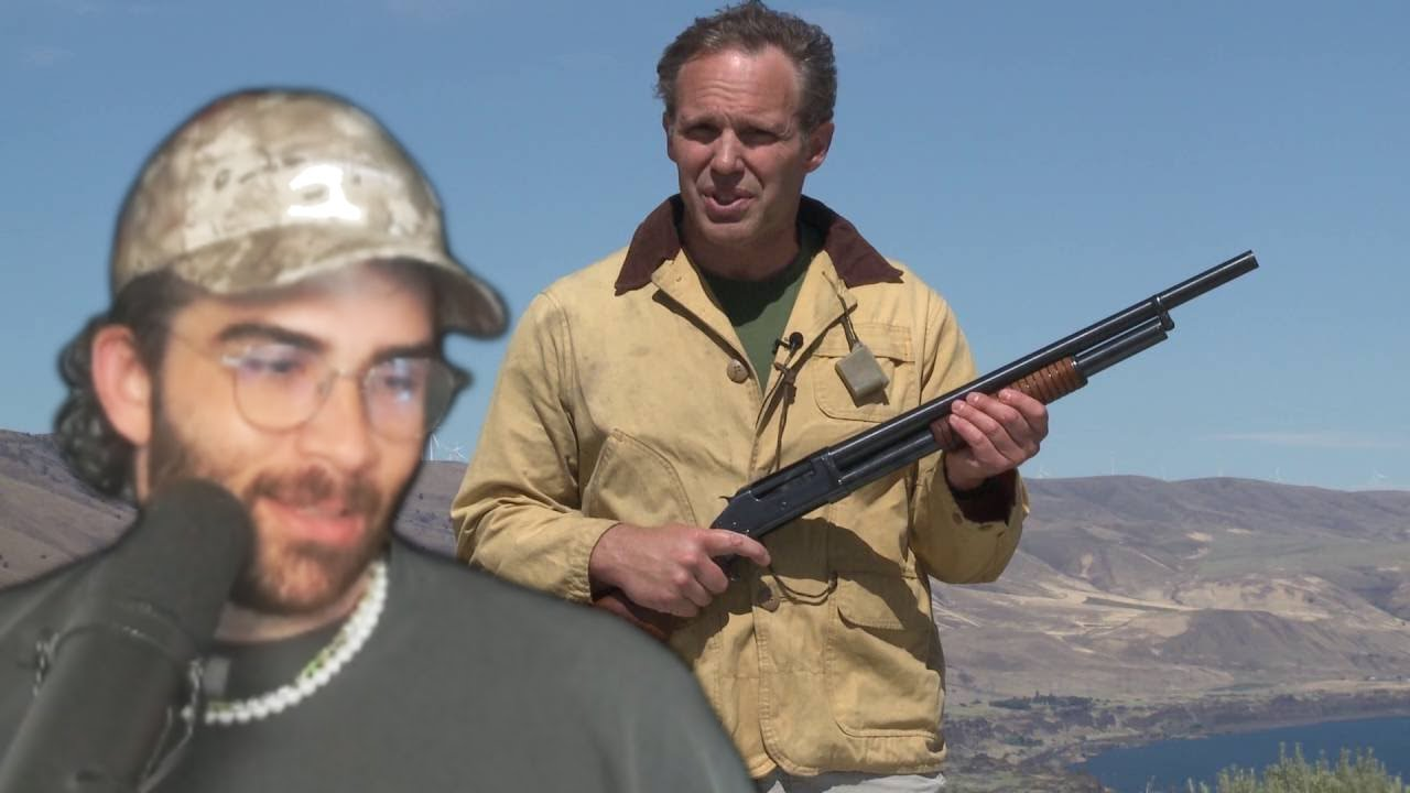 Hasanabi Reacts to Paul's Top Five Guns for Home Defense.