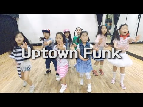 Uptown Funk ft Bruno Mars  Mark Ronson  Kids Dance