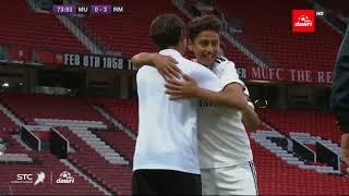الهدف الثالث لأكاديمية ريال مدريد (حسين الناصر) في مرمى مانشستر يونايتد في نهائي كاس التحدي