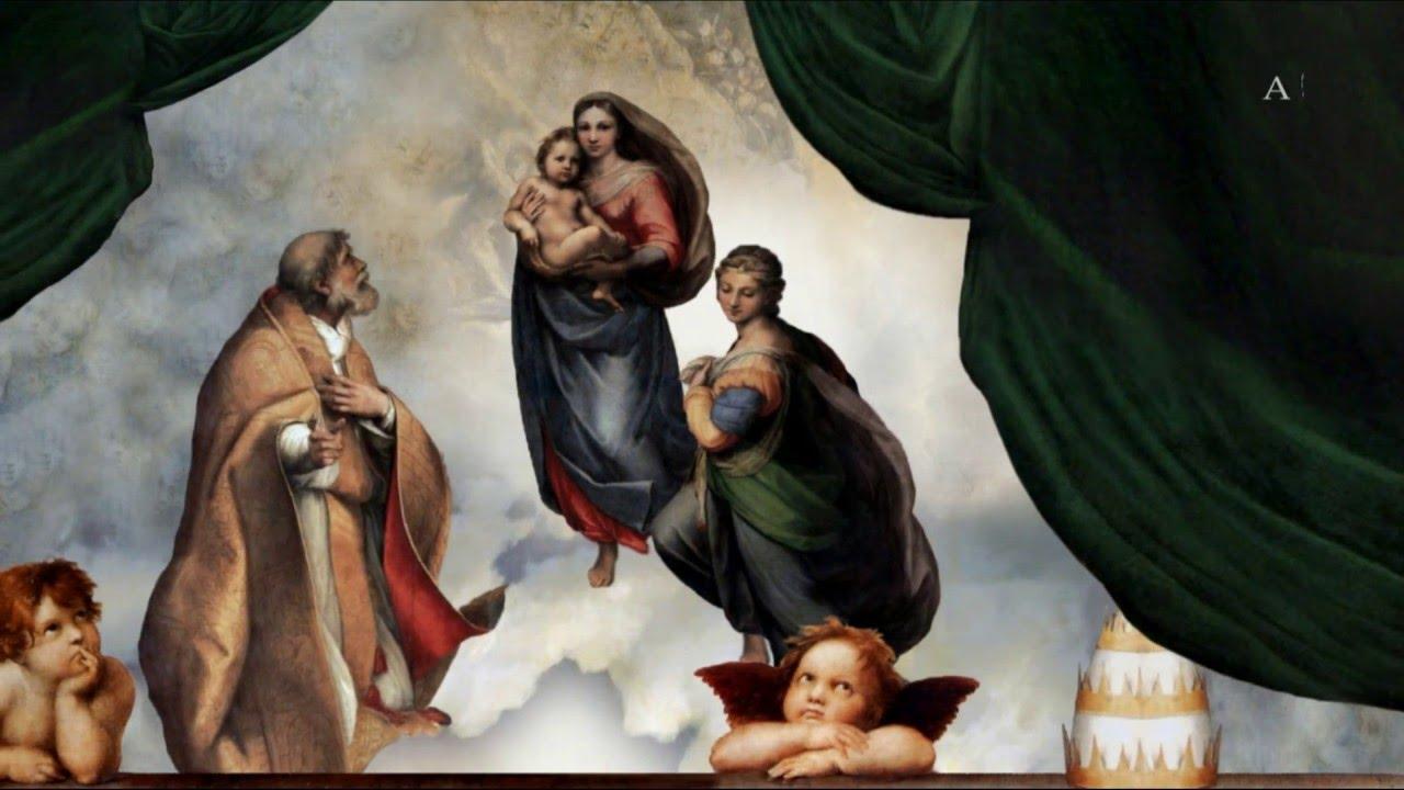 The Sistine Madonna of Raphael. Description of the picture 23