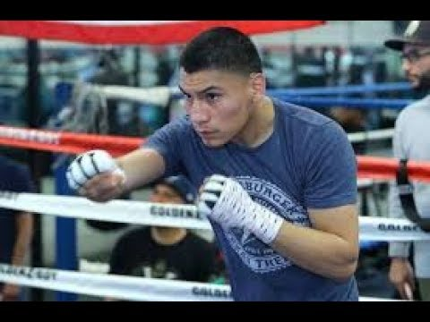 Vergil Ortiz Seconds After His KO Win What Does He Want To Eat ASAP EsNews Boxing