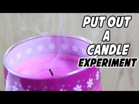 How to Put Out a Candle Without Blowing It