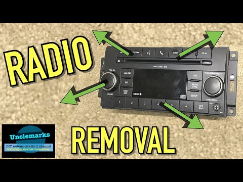 How To Remove A Radio On A Grand Caravan 2008 - 2010 Town & Country (EP 101) Volks Routan