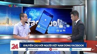 Những điều bạn cần làm để không bị mất tài khoản Facebook | VTV24