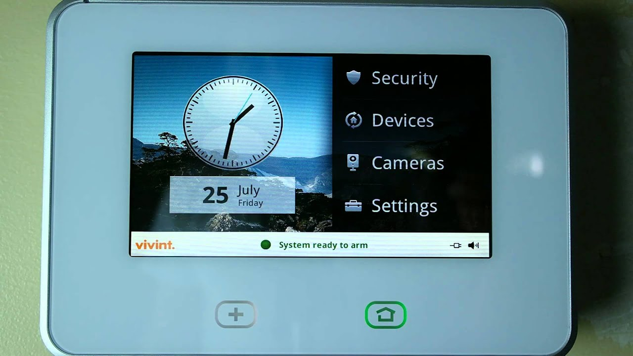 Vivint Sky Home Security System Overview And Review Youtube