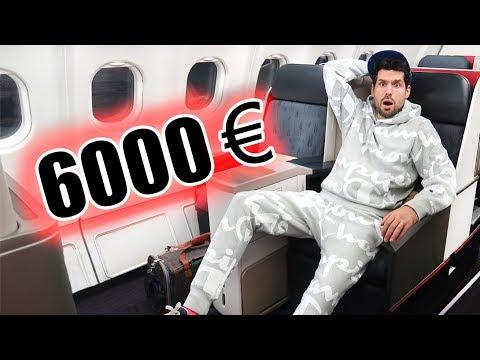 LE SIÈGE D'AVION QUI COÛTE 6 000€ (Business Class A330) - HUBY