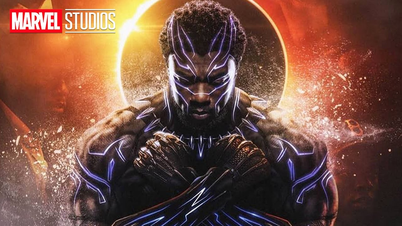 Chadwick Boseman Black Panther Marvel Tribute
