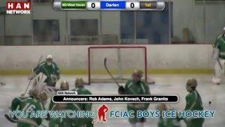HAN Boys Ice Hockey: Darien vs. Notre Dame-West Haven thumbnail