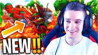 JE TEST LE NOUVEAU DRAGON DE FORTNITE BATTLE ROYALE ! 😱