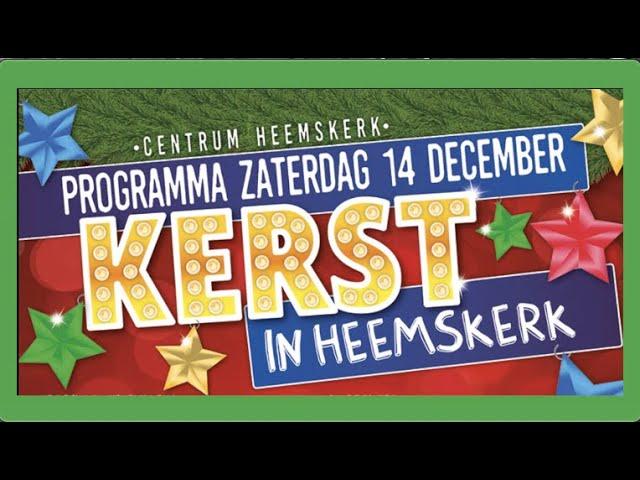 Promo 'Kerst op het Plein' in Heemskerk