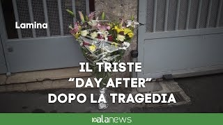 Lamina, il triste day-after dopo la tragedia