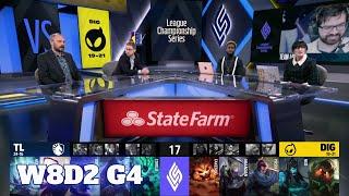 Team Liquid vs Dignitas | Week 8 Day 2 S11 LCS Summer 2021 | TL vs DIG W8D2 Full Game