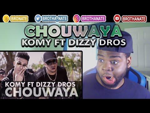 Komy Ft Dizzy Dros Chouwaya Exclusive Music Video Remix | All The Way Up | REACTION!!
