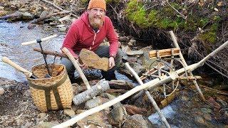 Bushcraft Waterwheel Power Head Part 1 (87 Days Ep. 29)