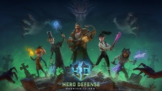 Hero Defense - Hunted Island Gameplay (PC HD)