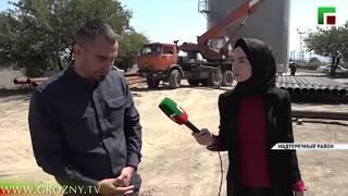 В Надтеречном районе Чечни активно реализуется Национальный проект «Экология»