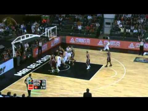 Argentina Vs. Venezuela / 2011 FIBA Americas Championship Round 2