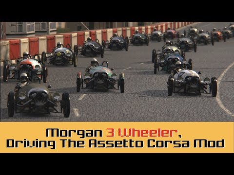 Morgan 3 Wheeler, Driving The Assetto Corsa Mod - Review and free download