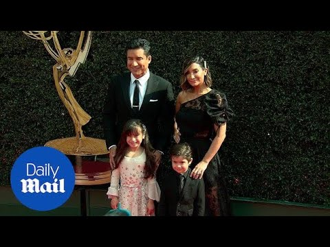 Mario Lopez & His Family Arrive For The 2018 Daytime Emmys - Daily Mail