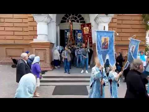Праздник обретения Озерянской иконы Божией Матери, Свято-Озерянский храм, 29 июня 2019 г.