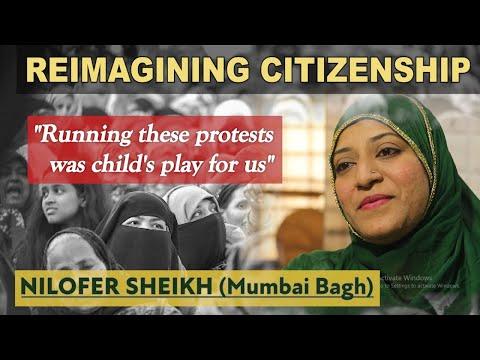 Running Anti-CAA Protests Was Child's Play- Nilofer Sheikh /Reimagining Citizenship/ KarwaneMohabbat
